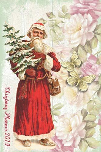 Ultimate Christmas Planner | Santa Organiser Christmas Shopping Tracker & Countdown Journal: Organiser Budgets Shopping Lists, Christmas Wish List ... Coordinator Holiday Planner, Flower Theme (Shopping Christmas Countdown)