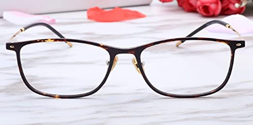 DAFREW Gafas de Lectura de Moda para Mujer ultraligeras Gafas Anti ...