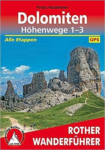 Dolomiten höhenweg 8 etappen