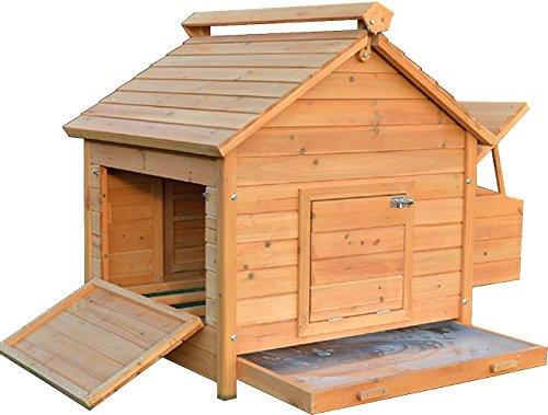 FeelGoodUK Coop House Chicken Coop, Large
