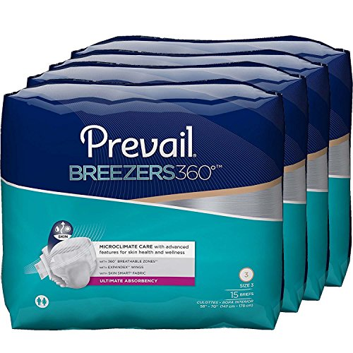 Prevail Breezers 360 Ultimate Absorbency Incontinence Bri...