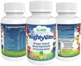 MIGHTY VITES Kids Complete Gummy Vitamins: Multivitamin Rich in Vitamin A & D