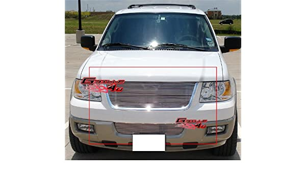 APS Compatible with 2003-2006 Ford Expedition Lower Bumper Billet ...