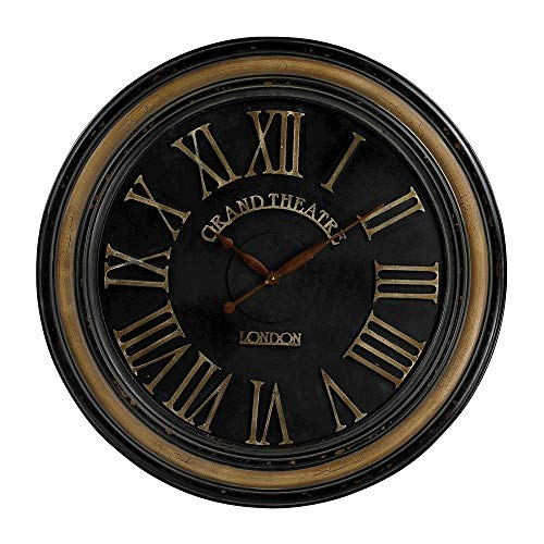 Sterling 130-006 PU/Glass Clock with Distressed Hand Painted Frame, 36-Inch, Berkshire