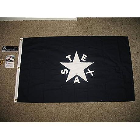 3x5 Cotton Zavala De Lorenzo Texas Republic State Flag