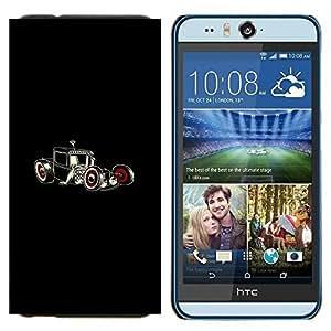 TECHCASE---Cubierta de la caja de protección para la piel dura ** HTC Desire Eye ( M910x ) ** --Hot Art de Rod