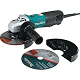 Makita 9566PCX1 6-Inch SJS High-Power Paddle Switch Cut-Off/Angle Grinder