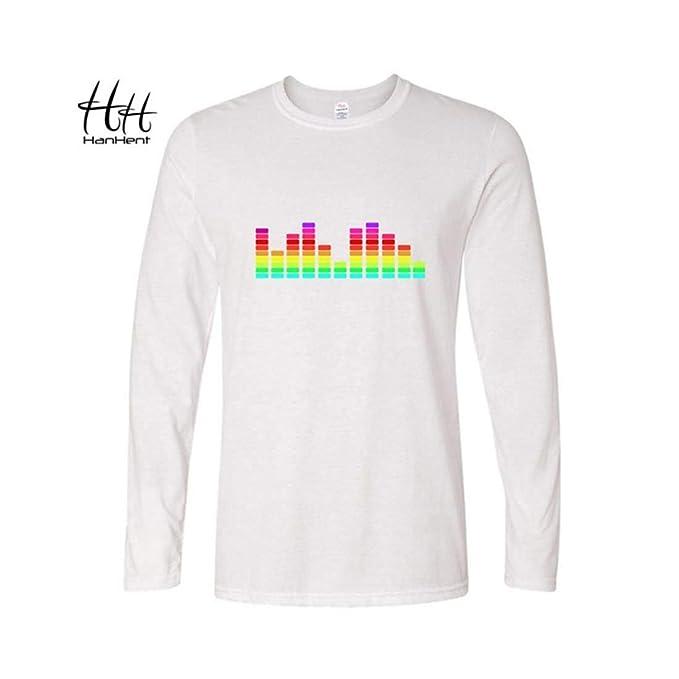 Indian Clothing Store HANHENT HH Cotton O-Neck Pink Men T Shirt