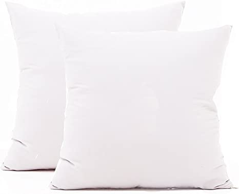 Pair 100/% Waterproof Zippered Pillowcase Cover Standard Square Pillow Protectors