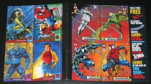(1994 Amazing Spider-Man 8-Card PROMO Panel, w/Fleer Ultra X-Men NM/M Marvel)