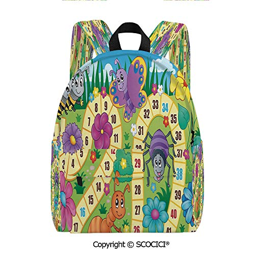 SCOCICI Women's City Backpack Multi-pocket design (11.5