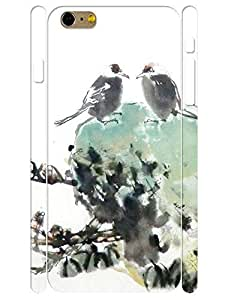 Classic Individualized Natural Pattern Chinese Style Theme Eco TPU Phone Protective Back Cover for Iphone 6 Plus 5.5 Inch