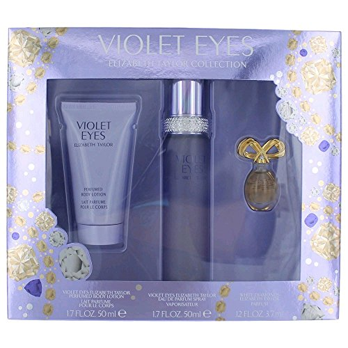 Women's Violet Eyes by Elizabeth Taylor Fragrance Gift Set - 3 pc by ElizabethTaylor