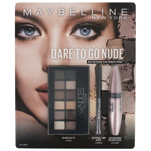 Maybelline New York Nudes Pallet Shadow, Unstoppable Liner P
