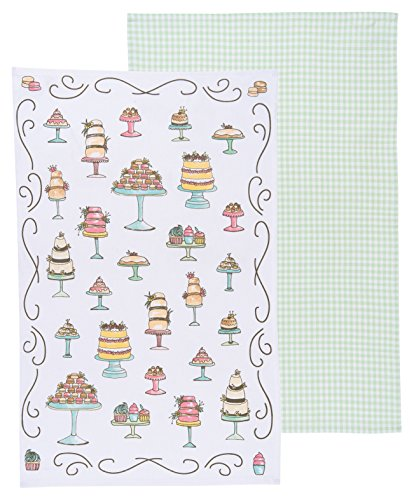 Now Designs Kitchen Dishtowels, Set of Two, Just Desserts for sale  Delivered anywhere in Canada