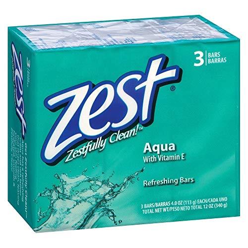 Zest Refreshing Bars Aqua - 3 ea., Pack of 2