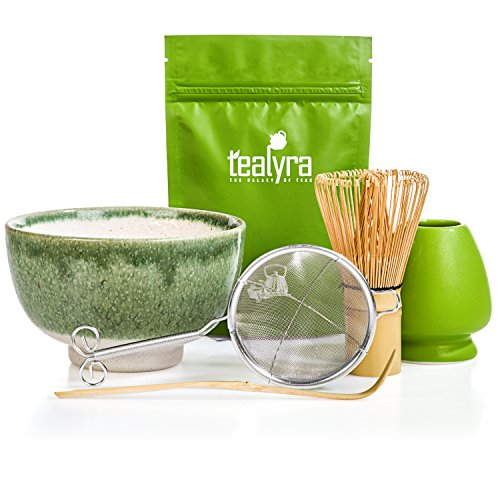 Tealyra - Matcha Tea Ceremony Start Up Kit - Complete Matcha