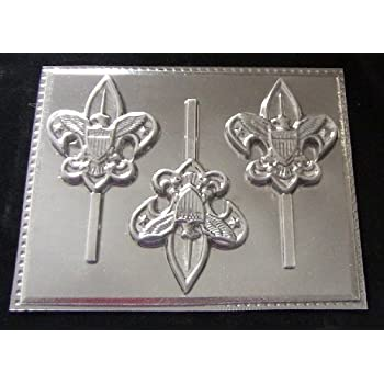 Amazon.com: Boy Scout piruleta chocolate candy Mold 3433 ...