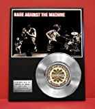 rage against the machine framed - Rage Against The Machine Limited Edition Non Riaa Platinum Record Display - Award Quality Music Memorabilia Wall Art -