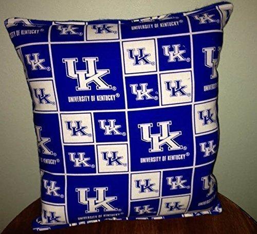 "University Kentucky Pillow Football Pillow UK Pillow NCAA HANDMADE In USA Pillow is approximately 10"" X 11"