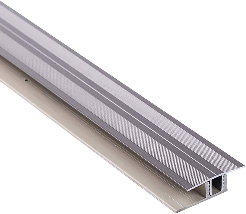 GWXFHT Building Products Aluminum Alloy Right Angle Flat Buckle with Base Waterproof Threshold Strip Floor Decorative Strip Floor Edge Strip W45/×L900MM