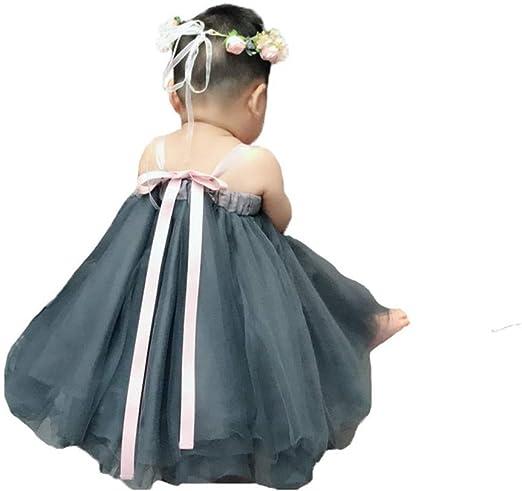 FHYER Niñas niños Falda Vestido Ropa de bebé, 0-6 años de Verano ...