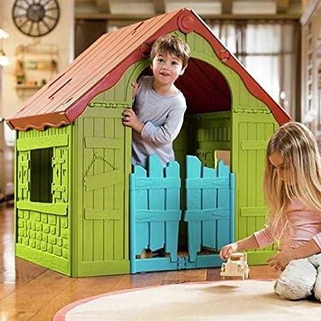 Casetta Da Giardino Per Bambini Pieghevole E Salvaspazio Per Interni