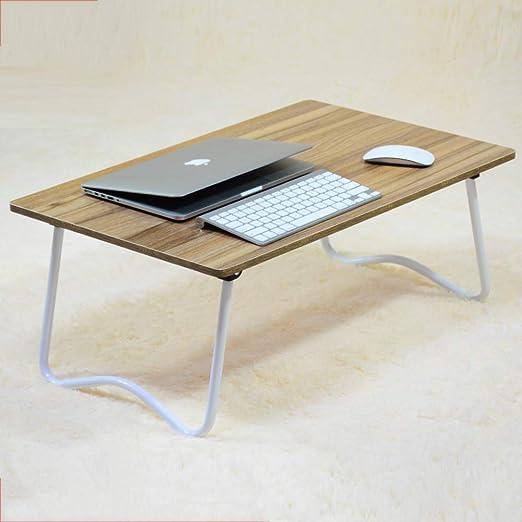 YQ WHJB - Mesa de Noche para Ordenador portátil, Plegable ...