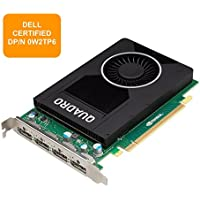 Dell 4 GB NVIDIA Quadro M2000 (4 DP) (1 DP to SL-DVI adapter) Graphics Card