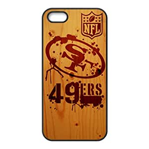 NFL San Francisco 49ers Logo Cell Phone Case for Iphone 5s