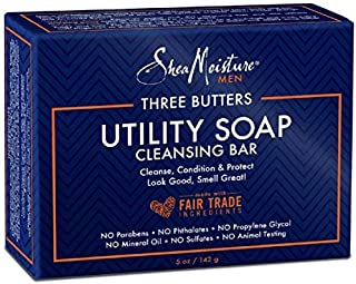 product image for Shea Moisture Men's Utility Soap, 5 Ounce (5 Pack)