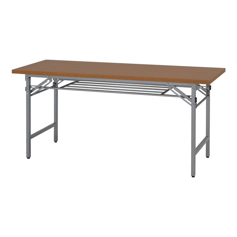 ビュッフェ銀ツールお届け先 法人限定 カグクロ 折りたたみ座卓テーブル 長机 W1800×D450×H330mm 会議テーブル TL-1845