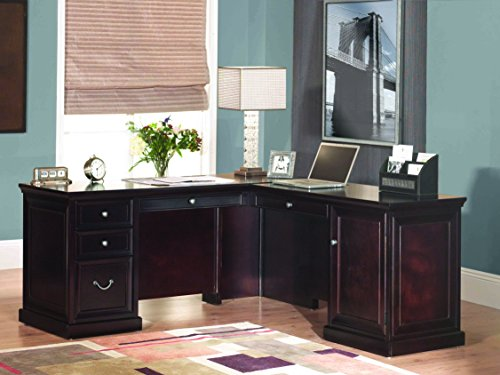 "kathy ireland Home by Martin Fulton 65"" L-Shaped Desk"