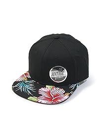 Vintage Year Premium Floral Hawaiian Cotton Twill Adjustable Snapback Baseball Caps