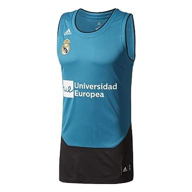 adidas RM Replica Camiseta Línea Real Madrid FC, Hombre: Amazon.es ...