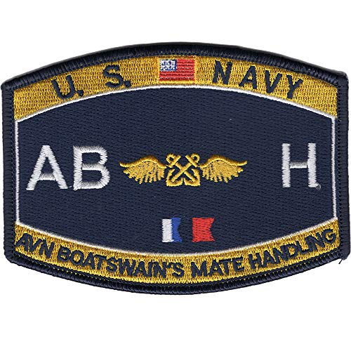 Navy Aviation Boatswains Mate Patch - Handling ABH