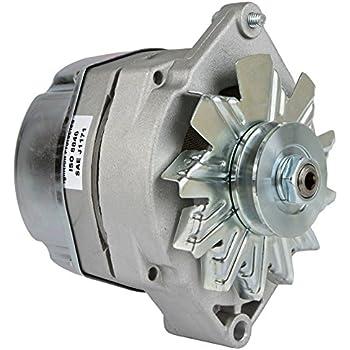 amazon.com: db electrical adr0334 alternator for 105 amp delco marine mercruiser 1-wire ... delco marine alternator wiring diagram delco 28si alternator wiring diagram
