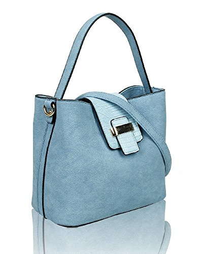 23cm Bag 13cm x Cube Shoulder Small Turquoise Small Women's x Foxlady 25cm Bucket Rf4wFzwq