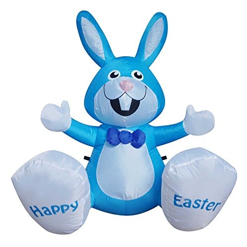 Outdoor Lighted Easter Bunny - 5