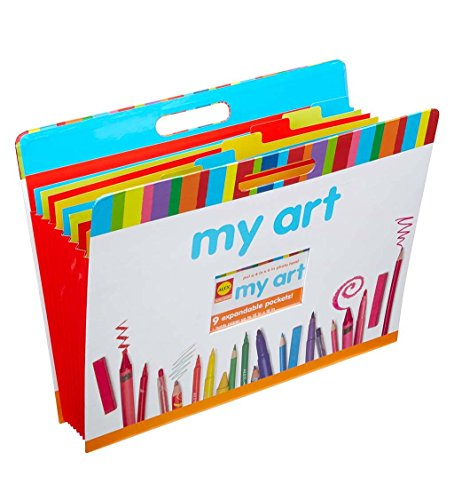 Portfolio Art Kids (Oversized Accordion Style Art Portfolio)