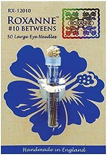Colonial Needle RX135-10 Roxanne Applique Hand Needles-Size 10 50//Pkg