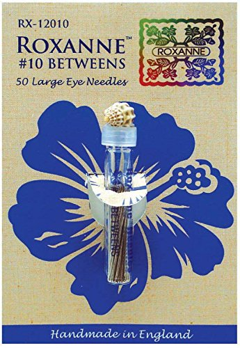 (Colonial Needle Roxanne Betweens Large Eye Needles - Size 10 (50 Count))