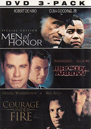 Broken Honor 3 Pack (Men of Honor / Broken Arrow / Courage Under Fire) by TCFHE