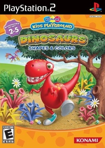 Konami Kids Playground: Dinosaurs, Shapes & Colors - PlayStation 2