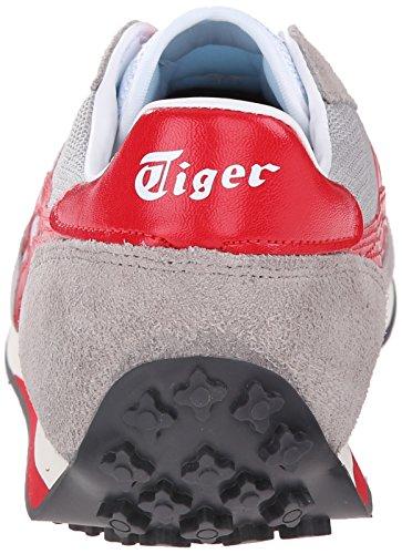 Onitsuka Tiger Edr 78 Classic Sneaker Da Corsa Grigio Chiaro / Rosso