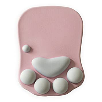 Amazon.com: ruifengsheng Cat Paw Alfombrilla de mouse con ...