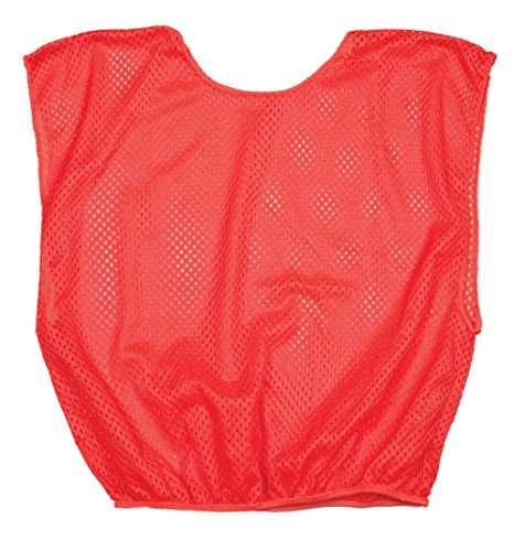 Champion Sports Youth Scrimmage Vest, Neon Orange, One Size, 12 (Champion Practice Scrimmage Vests)