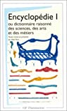 Encyclopédie 1, ou dictionnaire raisonné des sciences, des arts et des métiers par Le Rond d'Alembert