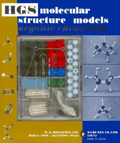 HGS Molecular Structure Model Organic Chemistry (Structure Model Set)