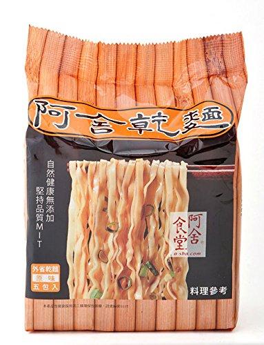 Asha Healthy Ramen Noodles, Medium Width Mandarin Noodles, Original Sauce Flavor, 5 Pouches Per Servings, 3.35Oz (95 grams)